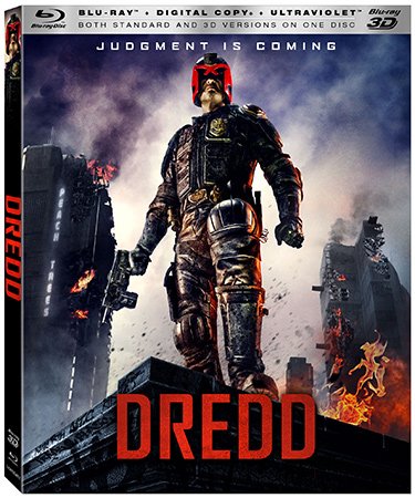 Dredd Bluray cover