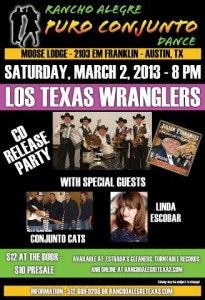 Los Wranglers CD release 3.2.2013