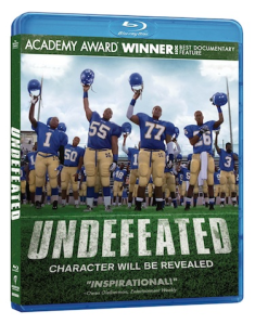 Undefeated Bluray cover