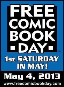 Comic Book Day 5.4.2013