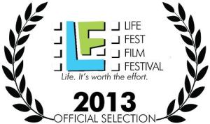 Life Fest Official Selection 2013 logo