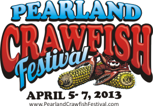 Pearland Crawfish Fest_2013_Logo_Date