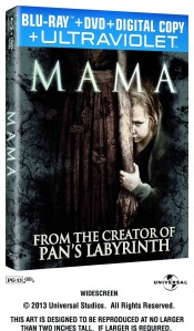 Mama blu ray BOX ART