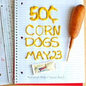 Sonic Corn Dog special 5.23.2013