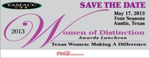 Women of Distinction 2013 [TAMACC] [save the date55]