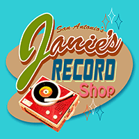 Janies Record Shop_Logo200