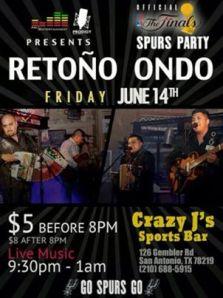 Retono_Crazy Js Sports Bar 6.14.13